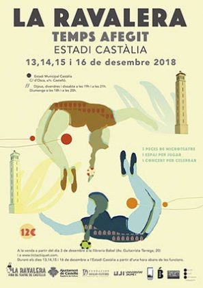 La Ravalera 'Temps Afegit' en el Estadio Castalia