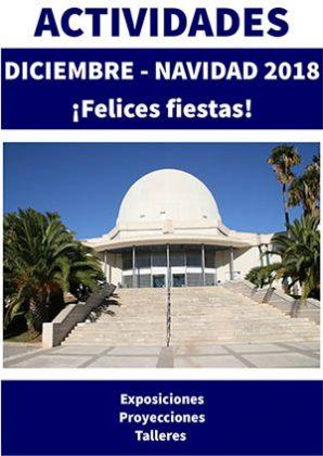 Programación de diciembre del Planetario de Castellón