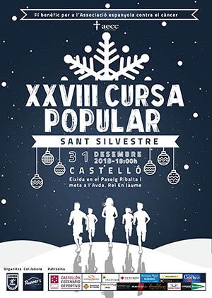 Carrera San Silvestre Castellón 2018