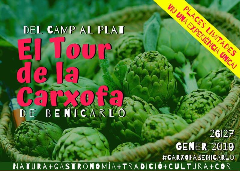 Benicarló prepara rutas para los «carxofalovers» en la Fiesta de la Alcachofa