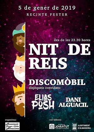 Discomovil en Almazora la Noche de Reyes