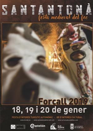 Santantonada de Forcall 2019