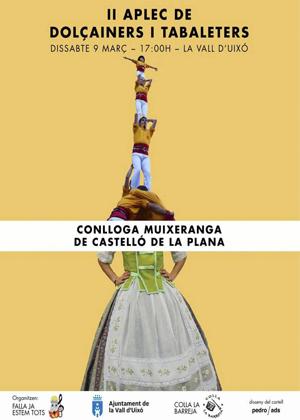 Conlloga Muixeranga de Castellón en la Vall d'Uixó