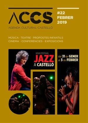 Agenda Cultural Febrero 2019 de Castellón