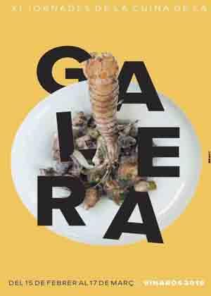 XI Jornadas de la Cocina de la Galera 2019 en Vinaroz