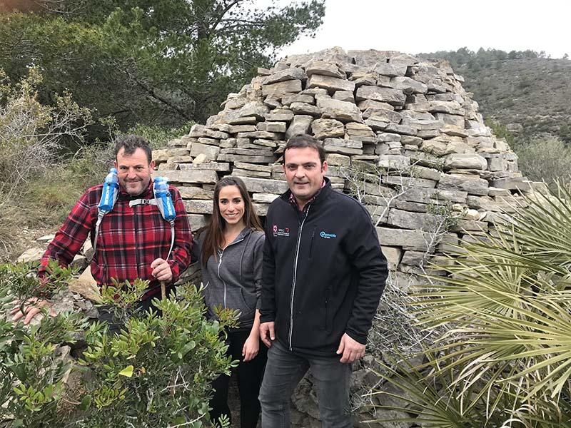 El Ayuntamiento de Peñíscola prepara rutas de senderismo por las construcciones de «pedra en sec»
