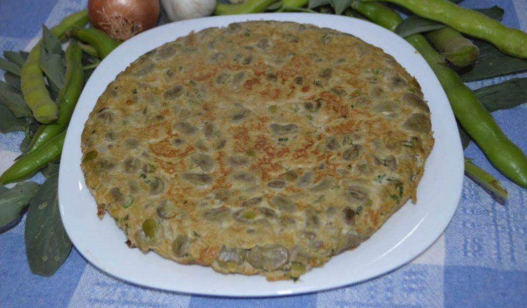 Gastronomía de Castellón. Tortilla de habas para Magdalena