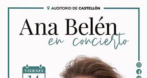 Ana Belén en concierto Castellón