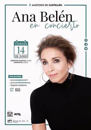 Ana Belén en concierto en el Auditorio