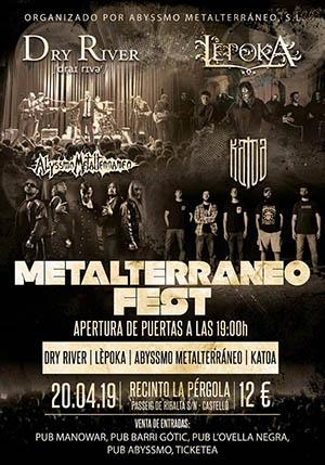 Metalterráneo Fest en La Pérgola de Castellón