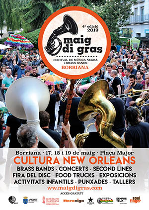 Maig di Grass 2019 en Burriana