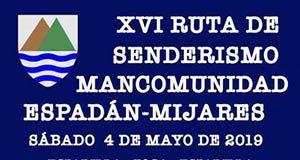 Ruta senderismo Mancomunidad Espadán Mijares
