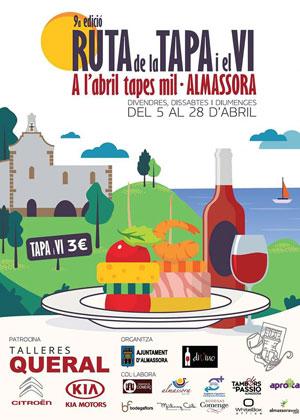 9ª Ruta de la Tapa y el Vino Almazora