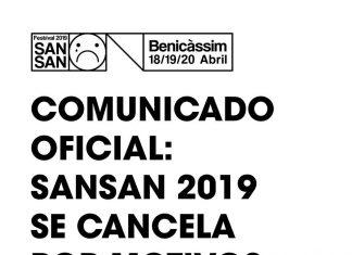 SanSan Festival cancelado