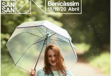 SanSan Festival se protege de la lluvia