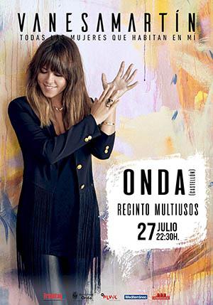 Vanesa Martín, concierto en Onda