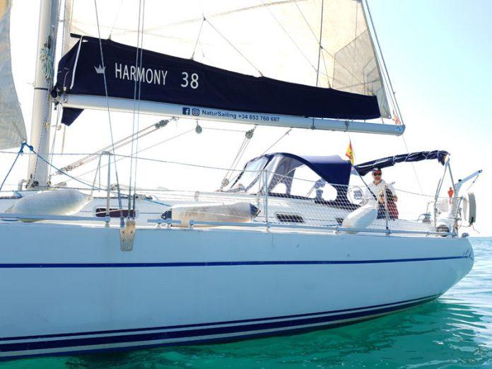 Islas Columbretes con el velero Garum