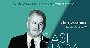 Concierto de Víctor Manuel en Burriana