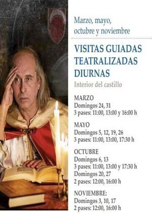 Visitas teatralizadas al Castillo de Peñíscola