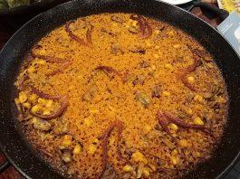 Arroz con pulpo y sepia Grao de Castellón