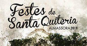 Cartel Fiestas Santa Quiteria Almassora 2019