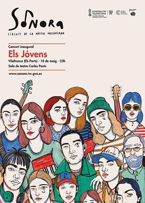 Concierto de Els Jovens en Vilafranca
