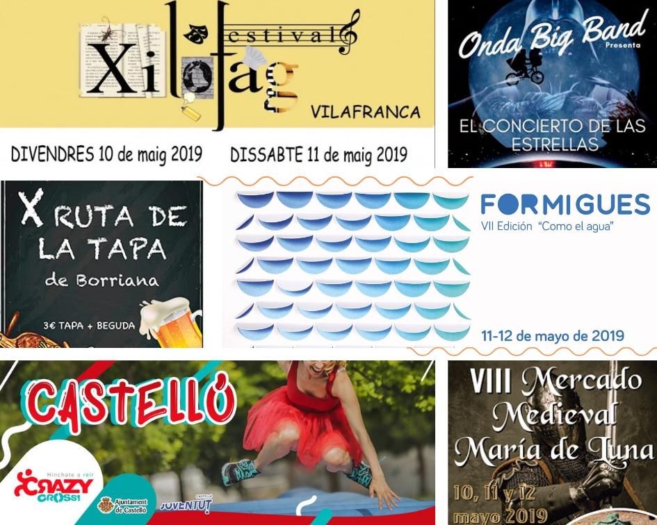 Fiestas en Vila-real, música y gastronomía para comenzar mayo con fuerza