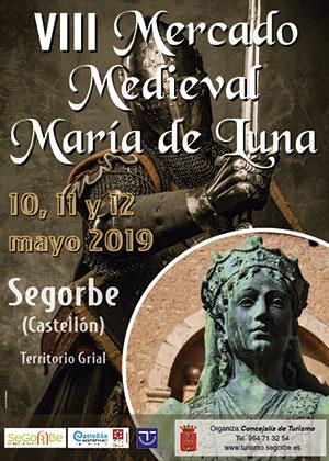 VIII Mercado Medieval María de Luna de Segorbe