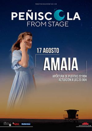 Concierto de Amaia en Peñíscola from Stage