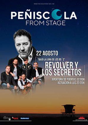 Revólver y Los Secretos en Peñíscola from Stage