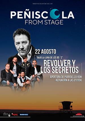 Los Secretos y Revolver en Peñíscola