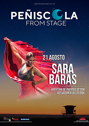 Sara Baras en Peñíscola from Stage