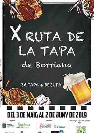 Ruta de la tapa de Burriana