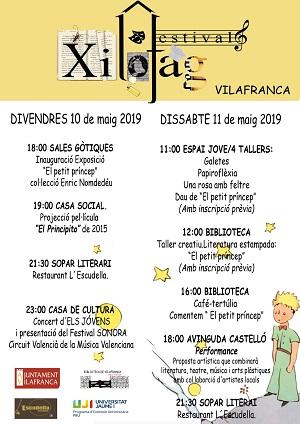 Xilofag Festival en Vilafranca
