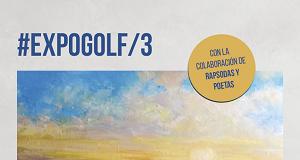 Cartel Expogolf Hotel del Golf Playa Castellón