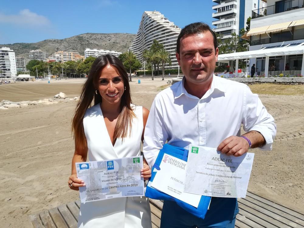 Las playas de Castellón ya lucen las Banderas Azules concedidas