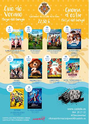 Cine de Verano Playa del Gurugú 2019