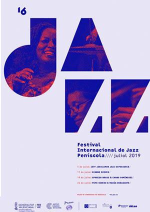 Cartel Festival de Jazz de Peñíscola