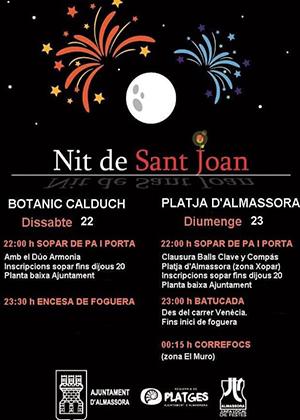 San Juan 2019 en Almazora