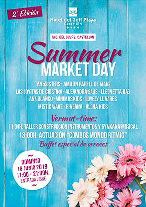Summer Market Day en Hotel del Golf Playa Castellón
