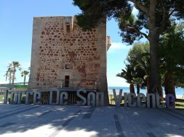 Torre de San Vicente imagen frontal