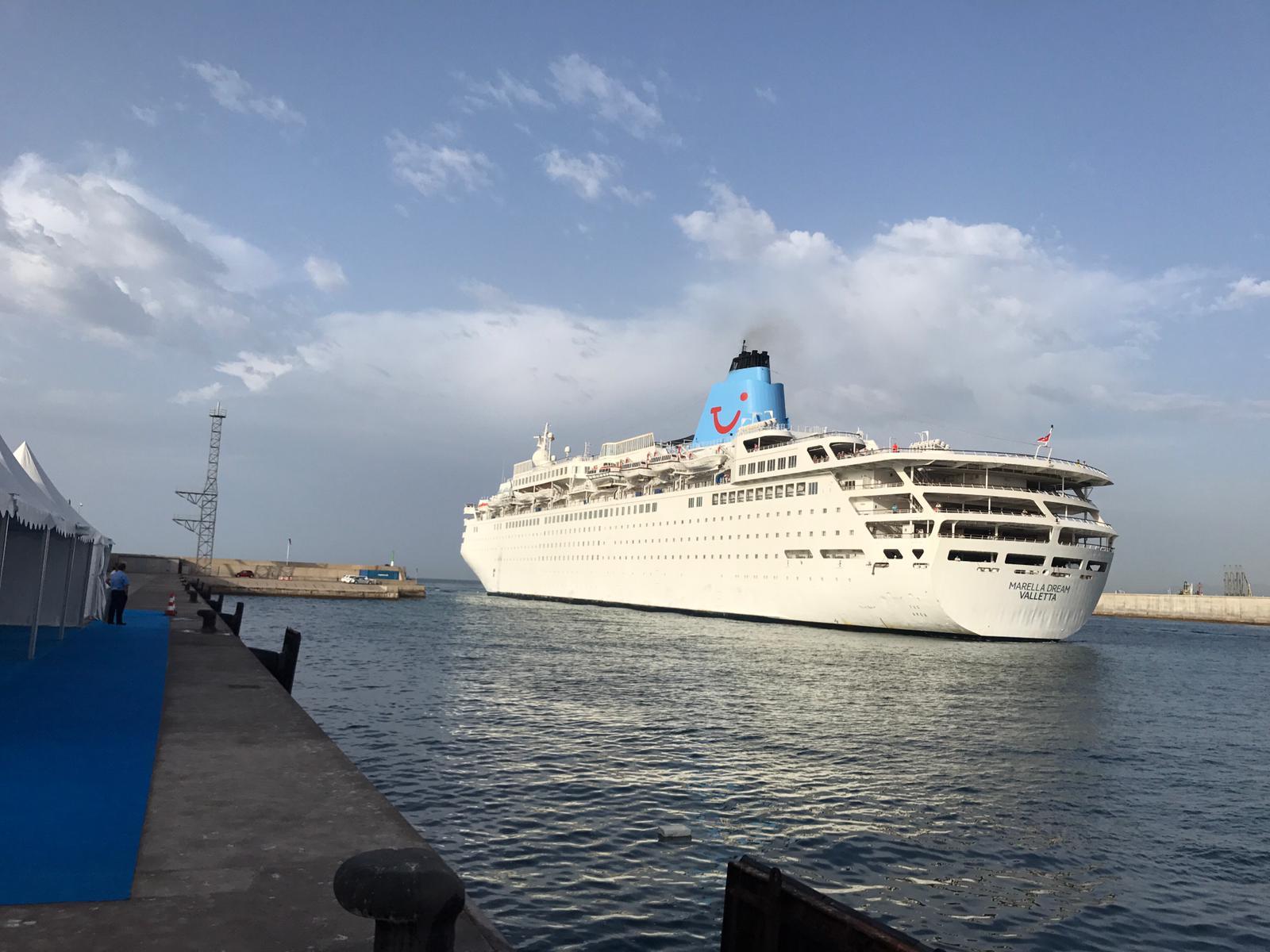 Amarre de crucero en Castellón