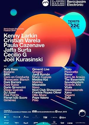 Benicàssim Electrònic Festival 2019