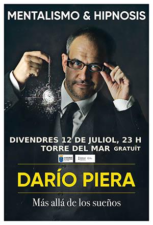 Mentalista Darío Piera en Burriana
