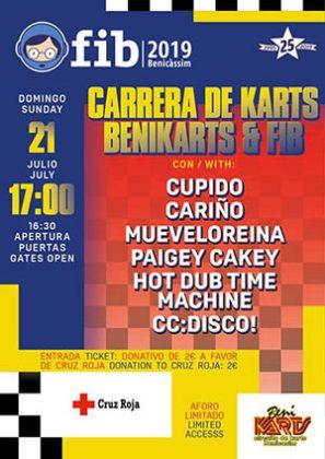 Carrera de Karts FIB y Benikarts