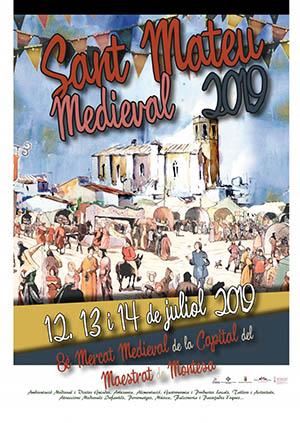 8º Mercado Medieval de San Mateo 2019