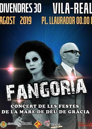 Concierto Fangoria en Vila-real