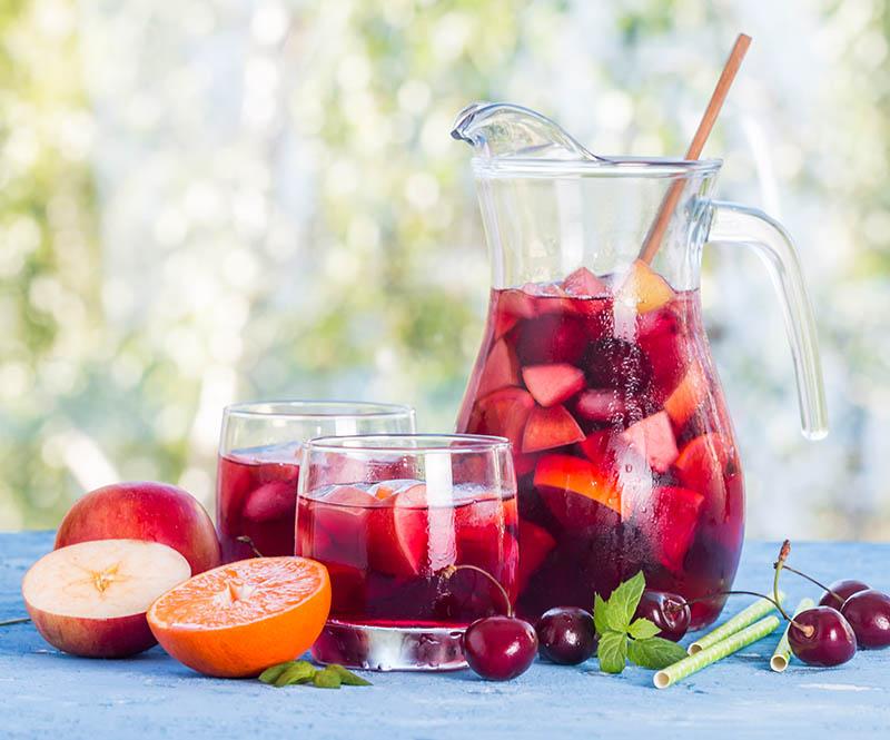 Sangría, bebida de verano