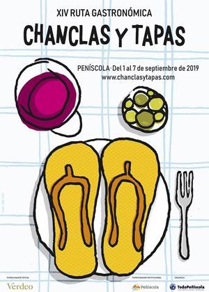 Chanclas y Tapas Peñíscola 2019