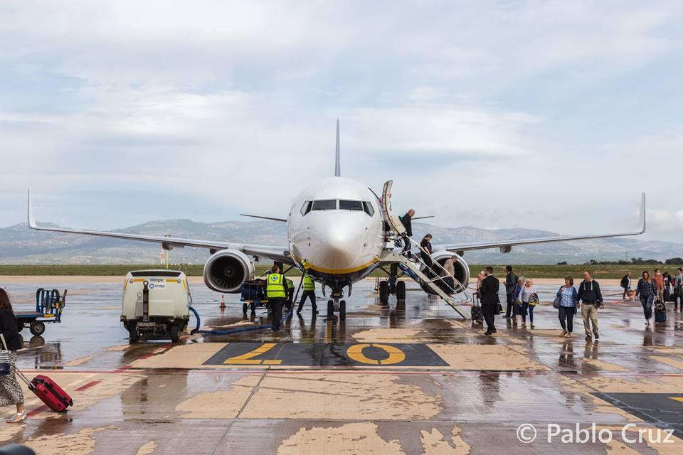 Aeropuerto de Castellón. Promoción turística para Castellón